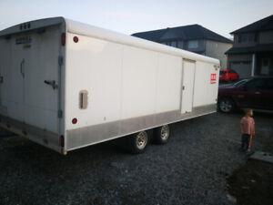 28 foot v nose trailer