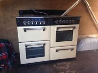 Stoves range cooler gas and elextrix