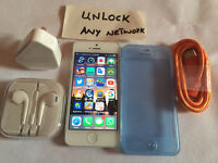 Apple iPhone 5 white 64 GB any network good condition (4156)