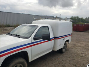 2011 Chevy Colorado, service van,