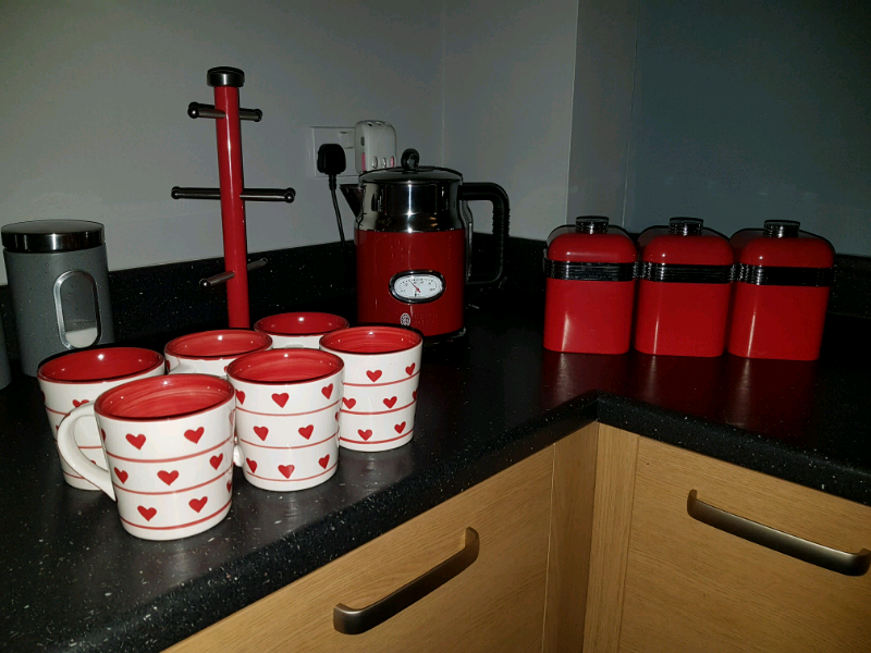 Red Kitchen Accessories In Tyne And Wear Gumtree