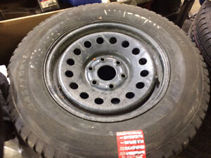 245/70R17 Winter Tires and Rims