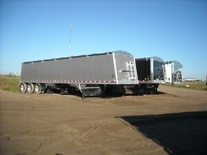 New Wilson aluminum trailers
