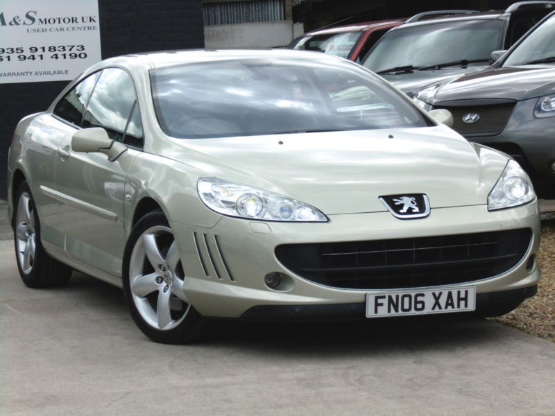 peugeot 407 2 7 hdi v6 gt coupe 205bhp diesel automatic 2006 06 in altrincham. Black Bedroom Furniture Sets. Home Design Ideas