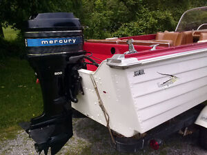 50 HP Outboard Motor