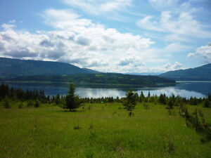 Park-like, very private, South facing 34 acres in Shuswap!