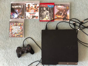 PS3 - 5 games (including GTA5 and Uncharted 3)