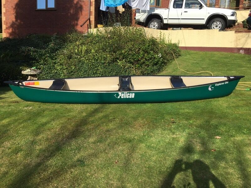 Pelican Explorer Dlx Canoe and Accessories