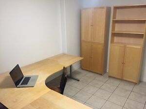 """IKEA Desk & Cabinets for sale *lowered price!"""""""