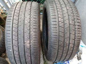 Two Continental Tires 255/50R19 107H