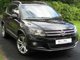 Volkswagen TIGUAN 2.0TDI SE 140ps diesel 4WD Leather, 19in Alloys, 2013, 31k mi