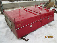 canopy, truck canopy, service body, 8 foot