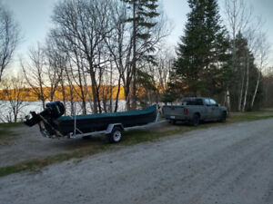 Canot freighter canoe a vendre for sell
