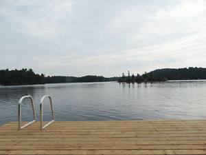 Lake House Retreat, Picturesque Scenery Lac McGregor