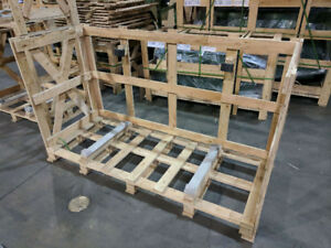 FREE WOODEN CRATES AND PALLETS