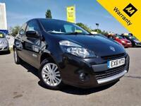 2011 RENAULT CLIO 1.1 I-MUSIC 3D 75 BHP! LOW MILEAGE! AIR-CON! CHEAP INSURANCE!
