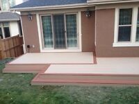 ***Small deck and fence company needs good helper***