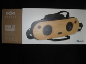 MARLEY BAG OF RIDDUM NEW IN THE BOX BLUETOOTH SPEAKER