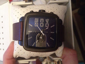 Diesel Chronograph Big Bold 50mm Case Blue Metallic Dial Watch