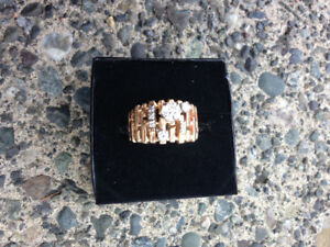 Diamond Ring 14k gold $1499 appraised at $4200