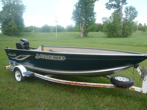 Used 2006 Legend Boats V151