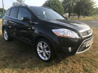 FORD KUGA 2.0 TDCI TITANIUM 4X4 4WD VERY HIGH SPEC 68K FROM £179 A MONTH
