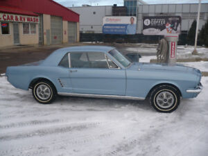 Beautifully restored 1966 Mustang Coupe