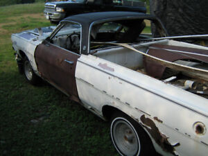 1968 Ford Ranchero  have 2 Parts Cars plus others