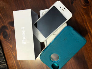 IPHONE 4...absolutely mint. UNLOCKED - $75.00
