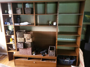 Ikea Bonde wall unit with TV stand