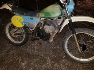 1981 Yamaha IT 125 2 stroke - reduced price