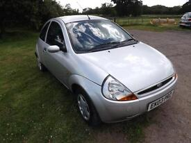 Ford Ka 1.3 2003/03 LOW INSURANCE LOW RUNNING COST ** LOW MILEAGE **