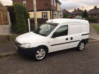 04 Vauxhall combo crew van 5 seats 12 months mot