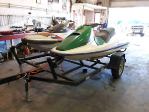 REDUCED! 2 seadoos and new trailer for sale