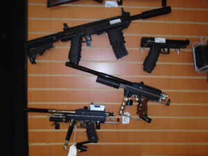 PAINTBALL GUNS/ ACCESSORIES (PRICES NOW REDUCED!!)