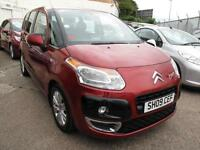 2009 09 Citroen C3 Picasso 1.6HDi VTR+ 5DR NEW SHAPE 63K 6 Stamps Diesel