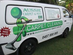 Aussie Carpet & Pest (End of lease specialist)  Truck mount used Beenleigh Logan Area Preview