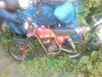 1970 motor minerili 50cc kids motorbike