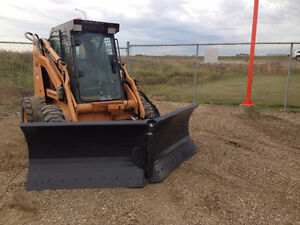 New Virnig V Blade Skid Steer / Bobcat snow blade attachments