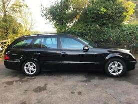2009 59 Mercedes Benz E220 CDI Avantgarde Auto Estate Black