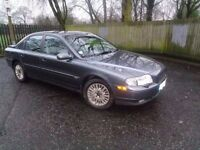 2003 Volvo S80 SE D5 5 Speed manual Diesel Sat Nav Phone
