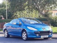 Peugeot 307 CC 2.0 16v ( 140bhp ) Coupe 2005MY S,CONVERTIBLE