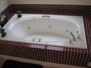 Jet spa tub
