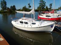 Halman Pocket Cruiser Sailboat