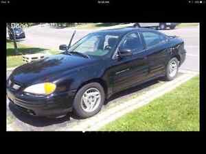 2001 Pontiac Grand Am SE Sedan *NO SCRAP*