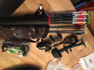Archery bows, arrows, cases and more