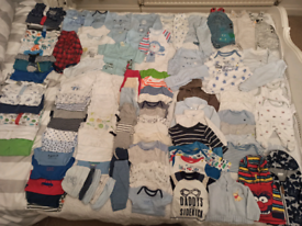 Baby boy newborn clothes for sale