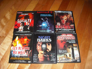 Lot DVD Horreur En Francais Zone 2