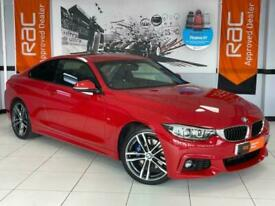 image for 2018 BMW 4 Series 2.0 420d M Sport Auto (s/s) 2dr Coupe Diesel Automatic