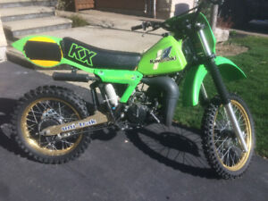 1982 KX125 - unrestored